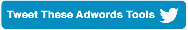 tweet-adwords-tools