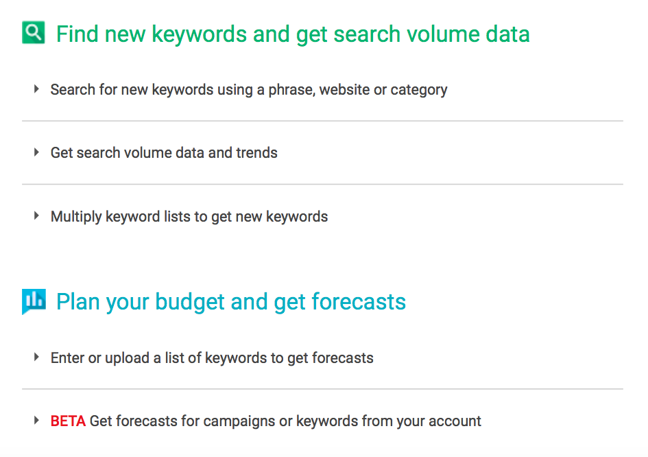 How To Use Google Keyword Planner For Ppc Clicteq Ppc Agency
